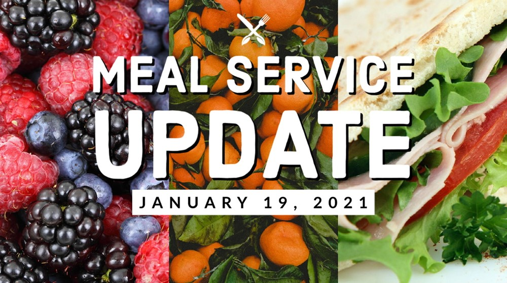 Meal Service Update