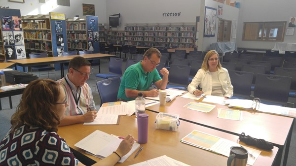 District Leaders in Teacher Evaluation Training
