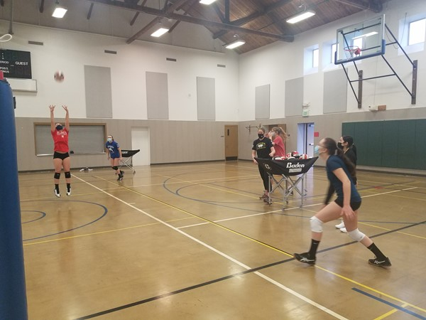 CJSHS and PTHS Girls Volleyball Feb 2021