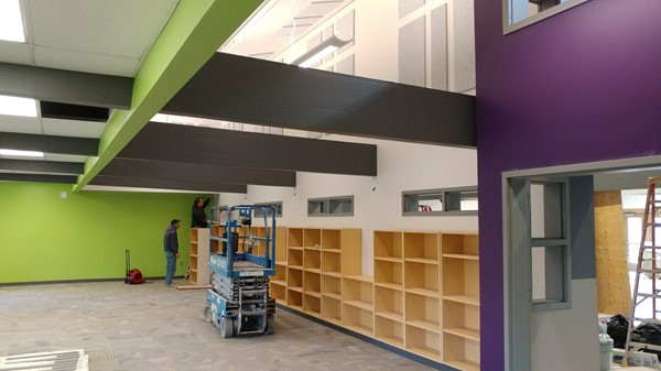 CES Library Remodel October 2019