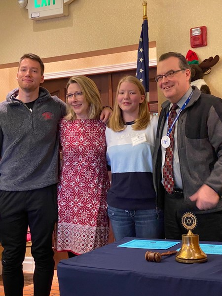 Lilllian Golden, Student of the Month