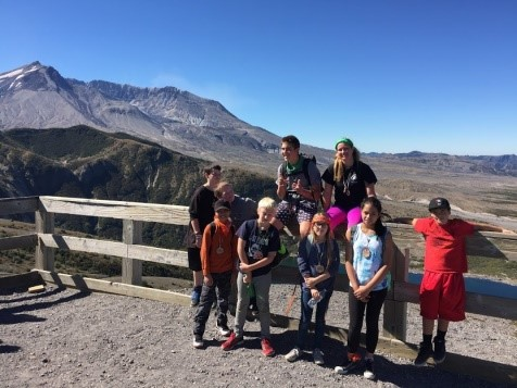 Chimacum Middle School Cispus Field Trip