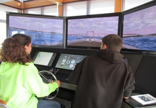 Chimacum Middle School Longboats Ship Simulator Port Townsend