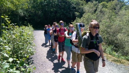 Chimacum Middle School Odyssey Lake Crescent Hiking Trail