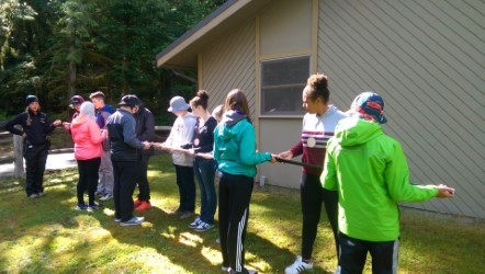 Chimacum Middle School Odyssey Outdoor Challenge Teamwork and Self-esteem Building Class