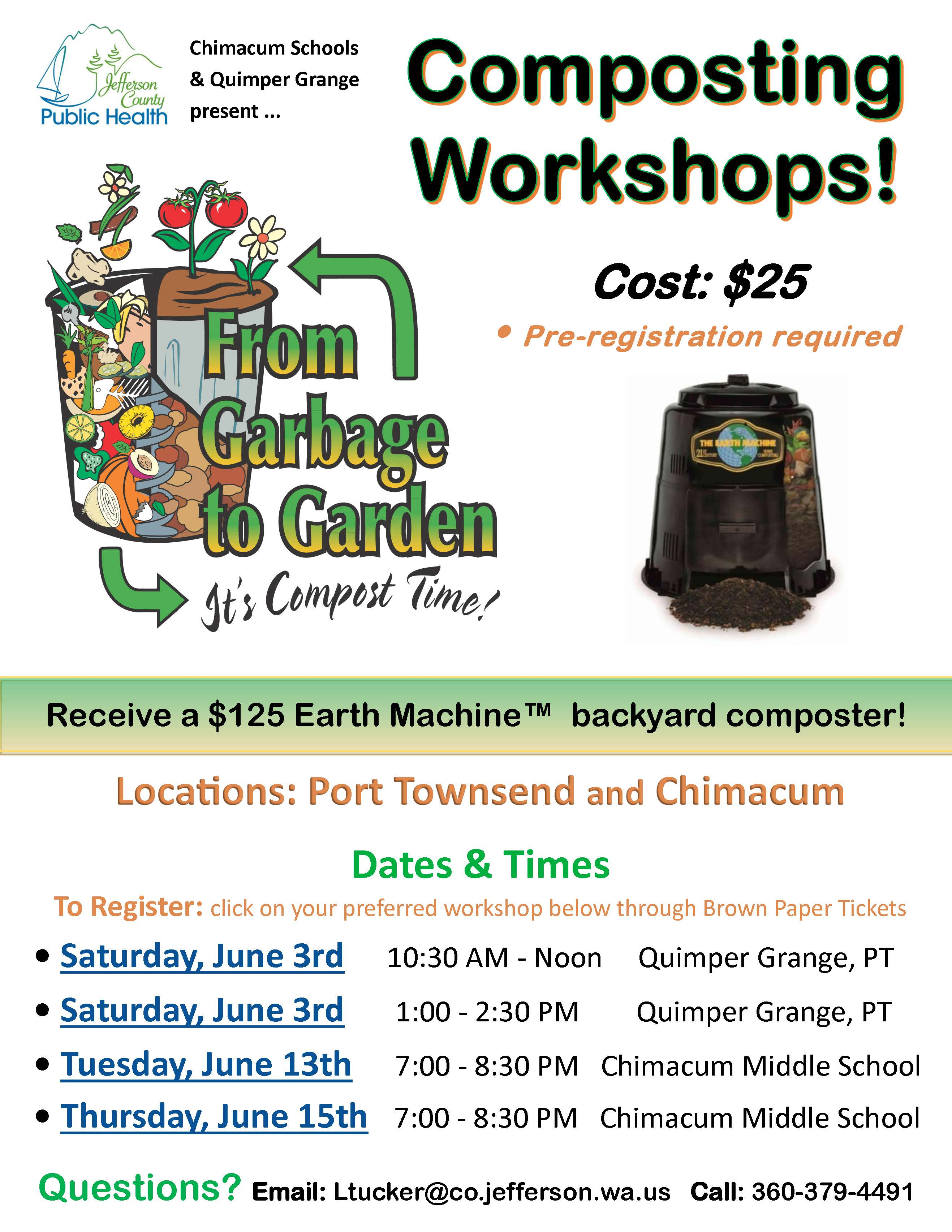 Composting Workshop Flyer