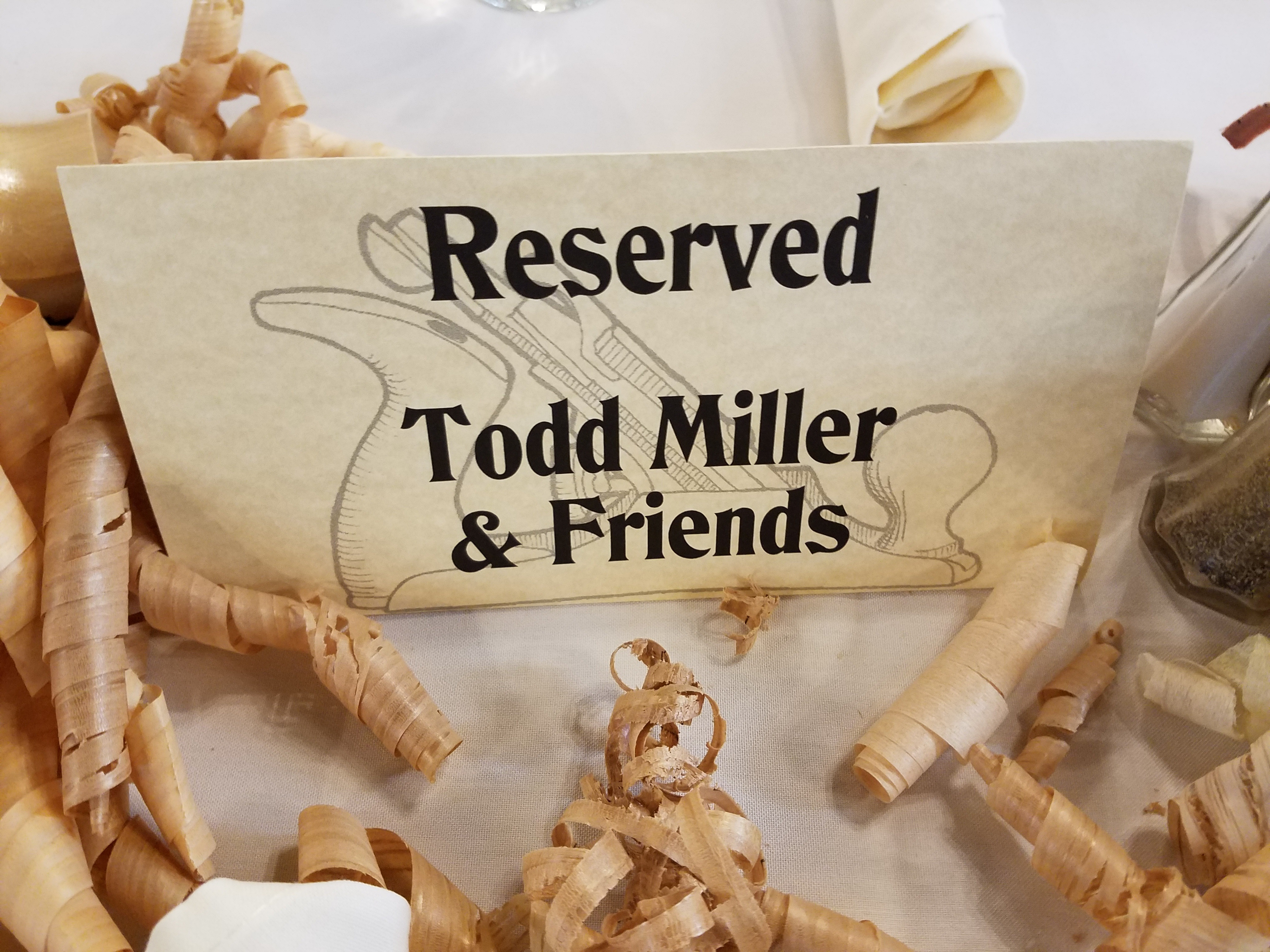 Reserved for Todd Miller